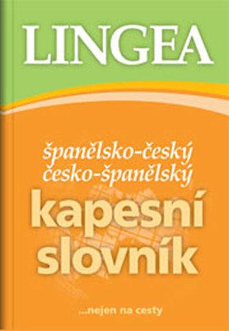 Španělsko český česko-španělský kapesní slovník