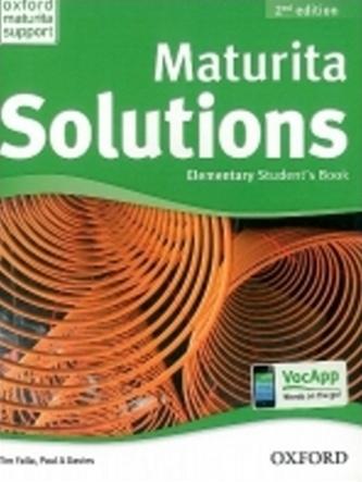 Maturita Solutions 2nd Edition Elementary Student´s Book Czech Edition - Tim Falla; P.A. Davies
