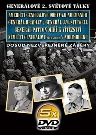 Generálové 2. světové války II. 5 DVD
