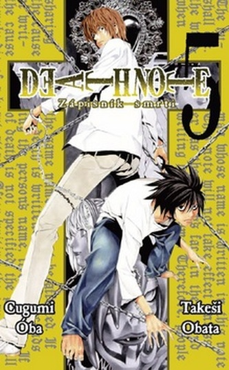 Death Note Zápisník smrti 5 - Cugumi Óba