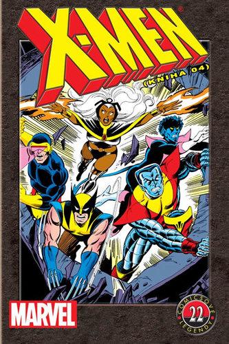 X-Men (kniha 4) - Comicsové legendy 22 - Chris Claremont