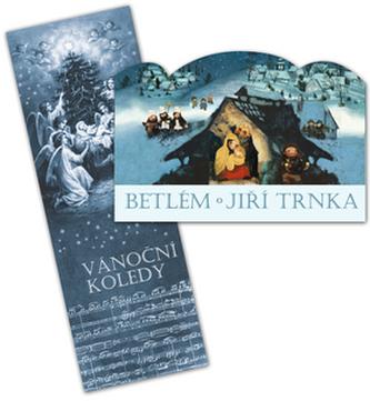 Betlém skládací + Vánoční koledy s notami - Jiří Trnka