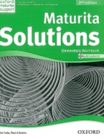 Maturita Solutions Elementary 2nd Ed. Workbook with Audio CD PACK Czech Edition - Tim Falla; P.A. Davies