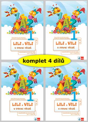 Lili a Vili 1 – mezipředmětové pracovní sešity pro 1. ročník ZŠ (I.-IV. díl) - Maňourová Zuzana, Nastoupilová Dita