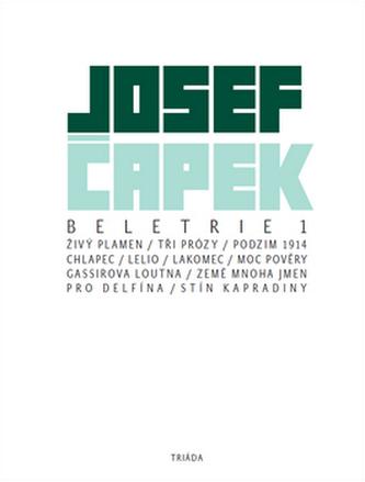 Beletrie 1 - Josef Čapek; Daniel Vojtěch