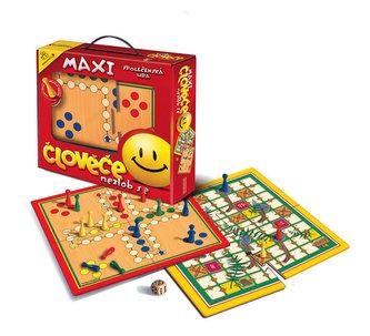 Společenská hra - Maxi Člověče nezlob se/Velké putování - neuveden