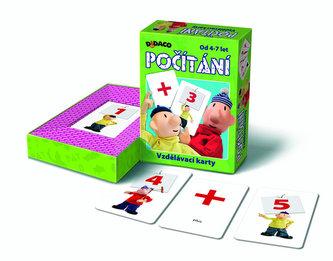 Vzdělávací karty - Počítání - Pat a Mat - neuveden