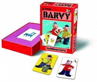 Vzdělávací karty - Barvy - Pat a Mat - neuveden
