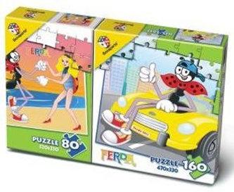 Puzzle Mix 80/160 - Ferda Mravenec - neuveden