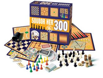 Soubor her 300 herních variant - neuveden