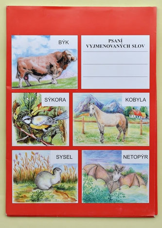 Psaní vyjmenovaných slov. Určeno pro 3., 4. a 5. třídu ZŠ a pro žáky s SPU - neuveden