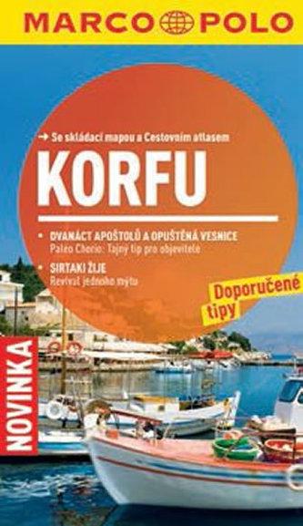 Korfu - Průvodce se skládací mapou - neuveden