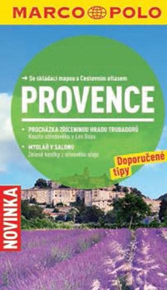 Provence - Průvodce se skládací mapou - neuveden