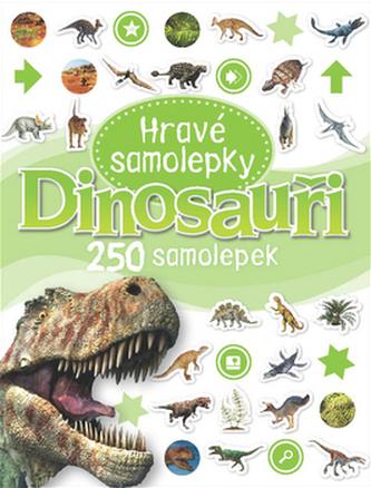Dinosauři - Hravé samolepky - neuveden