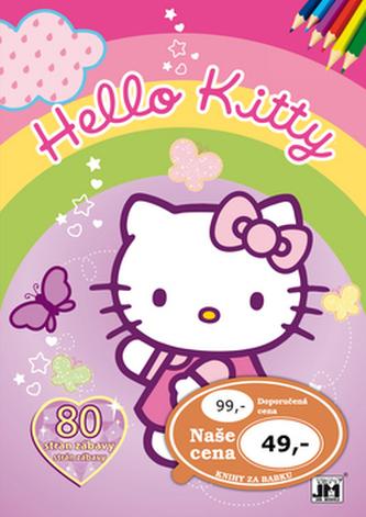 Hello Kitty Omalovánky 80 stran - neuveden