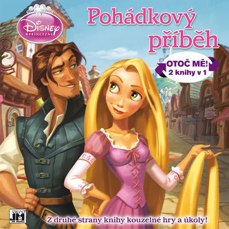 Disney princezny Pohádkový příběh-Otoč mě! 2 knihy v1 - neuveden