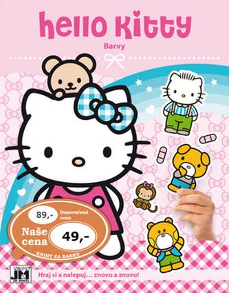 Hello Kitty-Barvy-Samolepková knížka - neuveden
