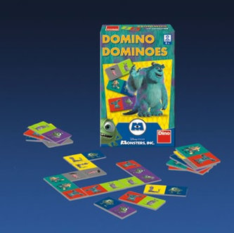 Příšerky s.r.o. - Domino - hra malá - neuveden