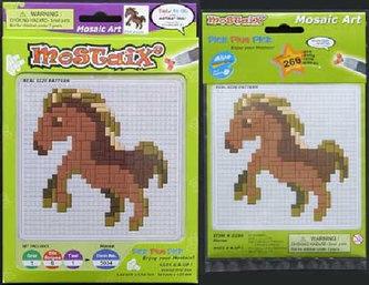Mozaika malá - kůň - neuveden