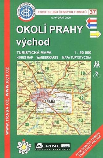 KČT 37 Okolí Prahy východ 6.vyd. - neuveden