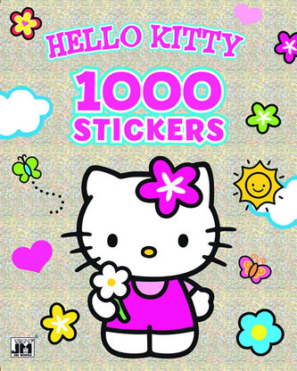 Hello Kitty 1000 samolepek - neuveden
