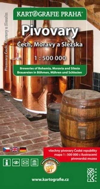 Pivovary Čech , Moravy a Slezska