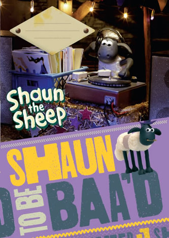 Školní sešit A4 nelinkovaný - Ovečka Shaun - neuveden