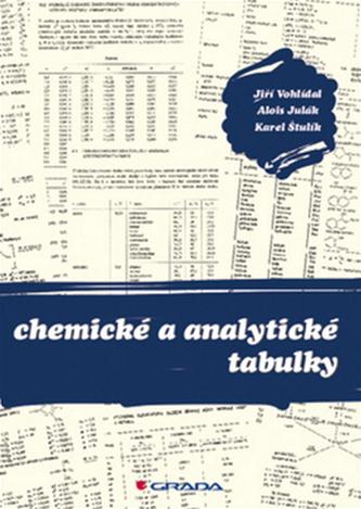 Chemické a analytické tabulky - Karel Štulík