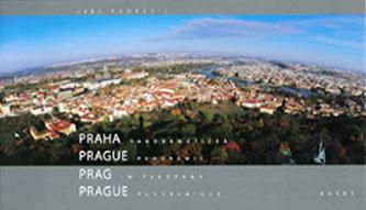 Praha panoramatická (ČJ, AJ, NJ, FJ) - Podrazil Jiří