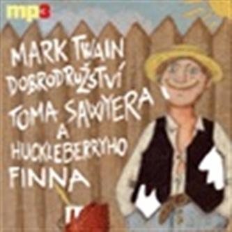 Dobrodružství Toma Sawyera a Huckleberryho Finna - CDmp3 - Twain Mark