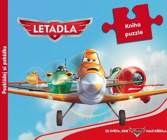 Letadla - 9 dílná kniha puzzle - Disney Walt