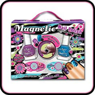 Sada laků na nehty s magnetickým efektem - neuveden