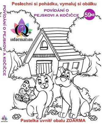 Povídání o pejskovi a kočičce - CD + pastelka a omalovánky - Čapek Josef