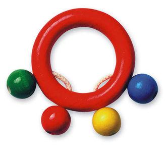 Kroužek do ruky - kuličky - barevný - neuveden