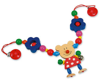 Řetěz do kočárku - medvěd - neuveden
