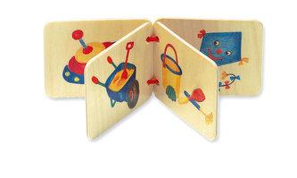 Dřevěná knížka - hračky - neuveden