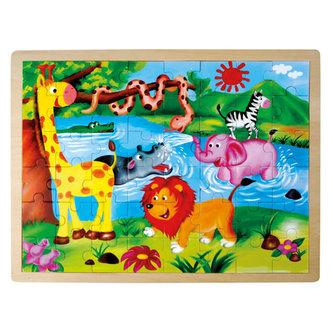 Puzzle - Divoká zvířata