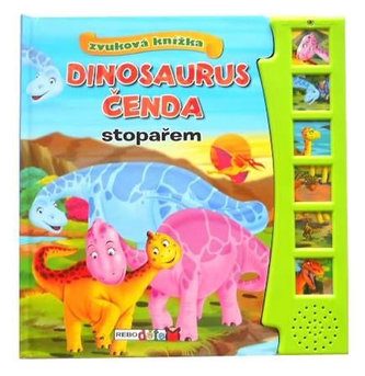 Dinosaurus Čenda stopařem - zvuková knížka - neuveden
