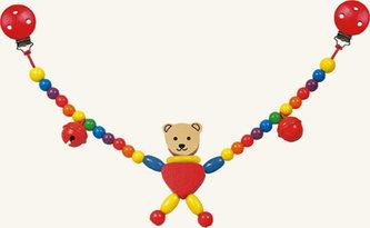 Řetěz do kočárku - medvěd - Cara - neuveden