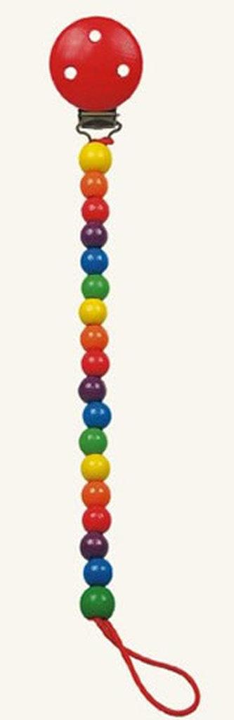 Šnůra na dudlík - korálky - Colori - neuveden