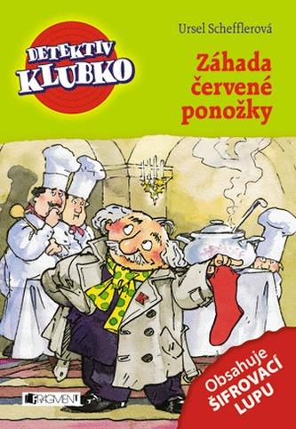 Detektiv Klubko - Záhada červené ponožky - Scheffler Ursel