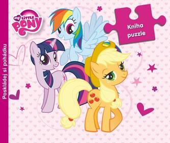 My Little Ponny - 9 dílná kniha puzzle - Hasbro