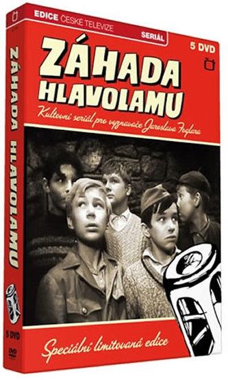 Rychlé šípy - Záhada hlavolamu - 5 DVD - Jaroslav Foglar
