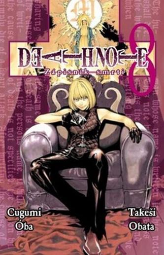 Death Note Zápisník smrti 8 - Cugumi Óba