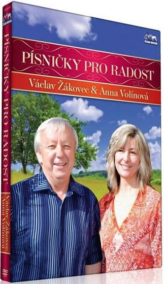 Václav Žákovec - Písničky pro radost - 1 DVD - neuveden