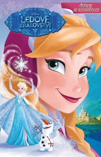 Ledové království - Čtení se samolepkami - Walt Disney