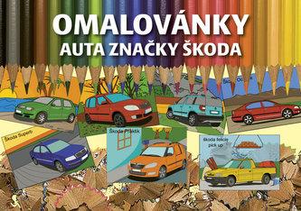 Omalovánky auta značky Škoda - neuveden