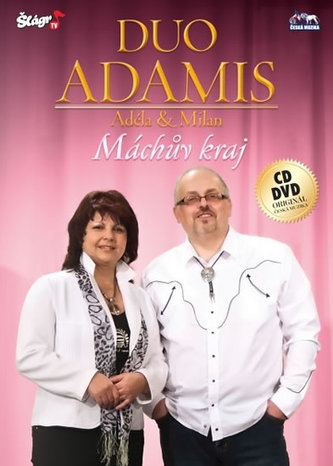 Duo Adamis - Máchův kraj - CD+DVD - neuveden