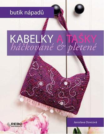 Kabelky a tašky - háčkované & pletené - Dovcová Jaroslava