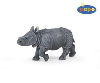 Nosorožec indický mládě